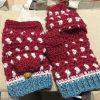 手編みミトン