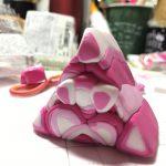 ピンクな幾何学模様のケイン