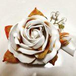 パールとゴールドのバラ(°▽°)