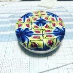 【Instagram 】アルミのクリーム入れにクレイ貼り付けてみました
